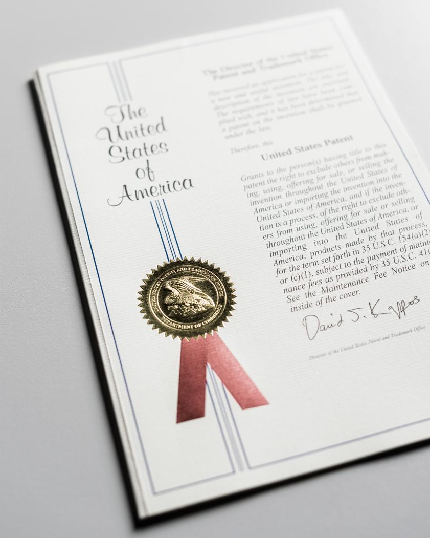 deposito e concessione di un brevetto